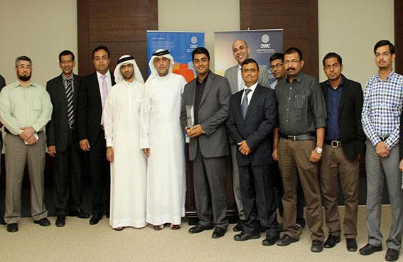 دبي ورلد سنترال يحتفل بفوزه بجائزة نتورك ميدل إيست عن أفضل مشروع منفذ للشبكات الثابتة
