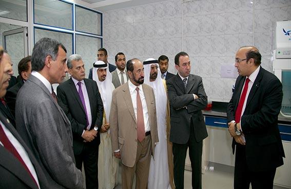 سلطان القاسمي يزور كلية الزراعة في جامعة القاهرة..والجامعة العربية تكرمه لدوره في دعم القضايا العربية