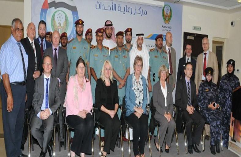 شرطة أبوظبي تتعاون مع جامعة سالفورد البريطانية لإعادة تأهيل الأحداث