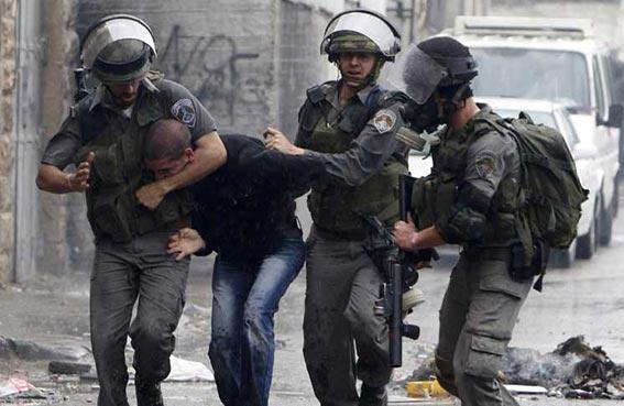قوات إسرائيلية تعتقل 11 فلسطينياً في الضفة