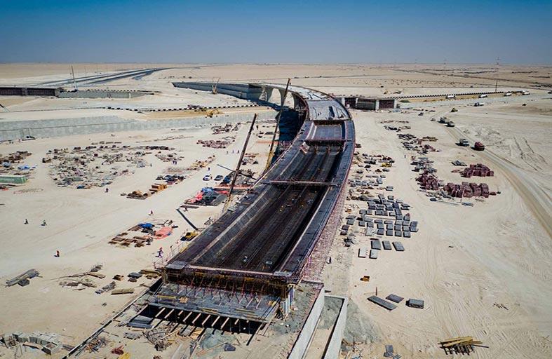 مساندة تنجز طريق أبوظبي - دبي الجديد نهاية العام الجاري بتكلفة 2.1 مليار درهم