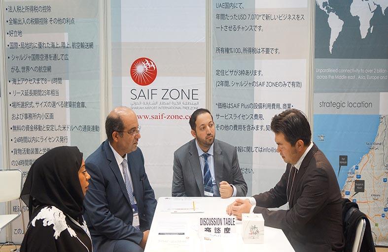 مشاركة فعاله لحرة الشارقة بمعرض طوكيو لتقوية العلاقات التجارية الإماراتية اليابانية