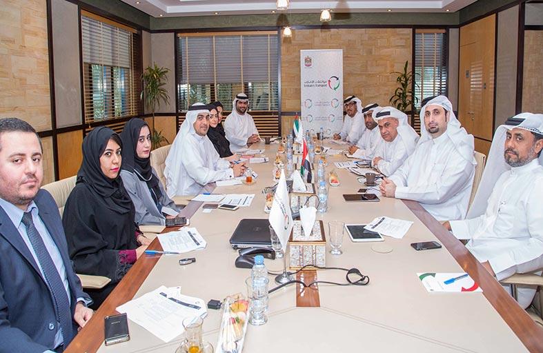 مناقشة سبل التعاون المشترك بين مواصلات الإمارات وهيئة الإمارات للمواصفات والمقاييس