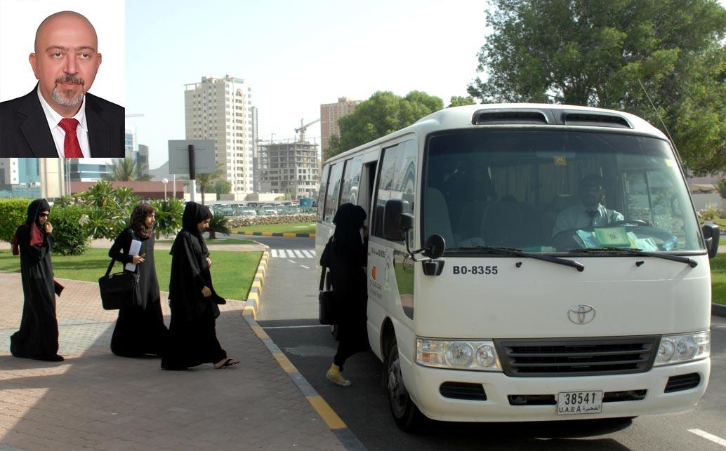 مواصلات الإمارات تستحدث وحدة متخصصة لخدمات النقل الجامعي