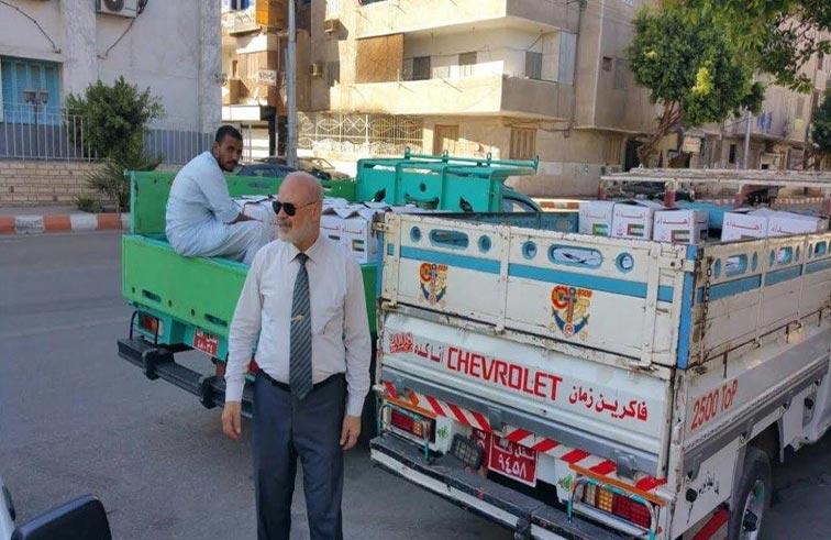 هيئة آل مكتوم الخيرية توزع ألفي كرتونة رمضانية بمحافظتي قنا والبحيرة في مصر