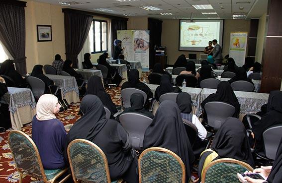 وعي صحي أعلى للمرأة  في اليوم الصحي المفتوح بنسائية دبي