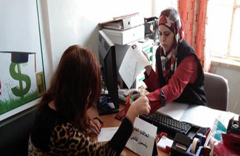 الهلال الأحمر تقدم مساعدات إغاثية لأهالي مدينة القدس