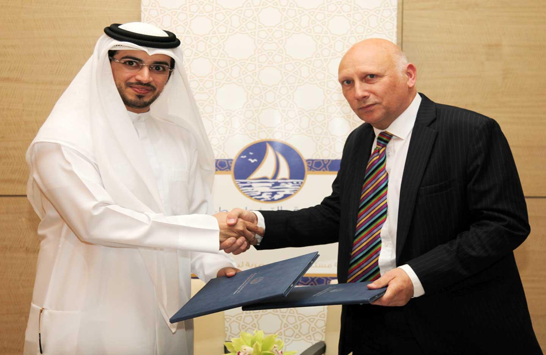 دائرة البلدية بعجمان توقع اتفاقية شراكة مع معهد إدارة المخاطر