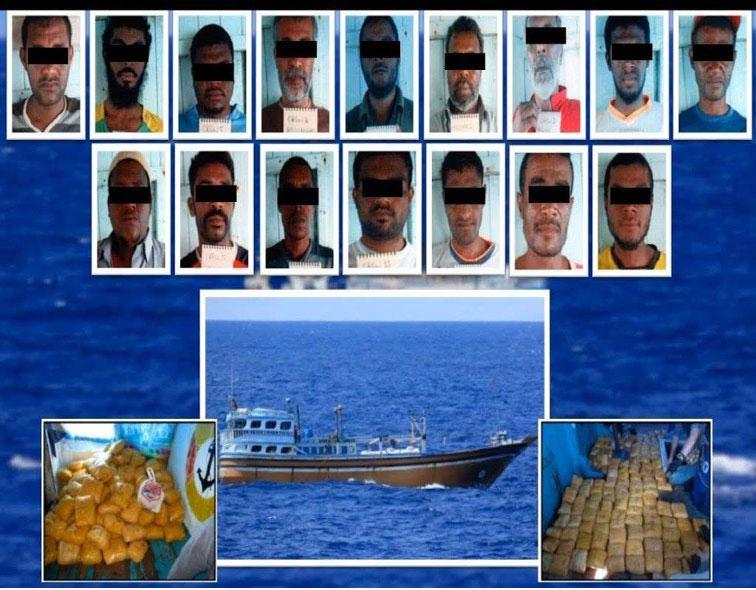 شرطة دبي تحبط محاولة تهريب 145 كيلو جراما من الهيروين