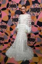 كاثرين نيوتن خلال حضورها حفل جولدن جلوب في بيفرلي هيلز ، كاليفورنيا ، الولايات المتحدة.    رويترز