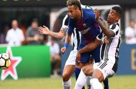 نيمار يقود برشلونة للفوز على يوفنتوس