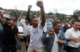 تظاهرات في هندوراس لمؤيدي الرئيس وخصمه