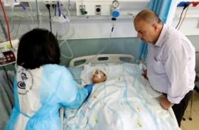 طفل فلسطيني يفقد النطق جراء الاحتلال