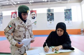 القوات المسلحة تستقبل الدفعة السادسة من منتسبات الخدمة الوطنية بمدرسة خولة بنت الأزور