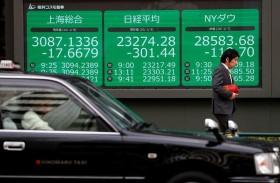 أسهم اليابان ترتفع مع تقييم المتعاملين لفيروس الصين