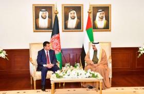 صقر غباش يستقبل رئيس مجلس الشعب بأفغانستان