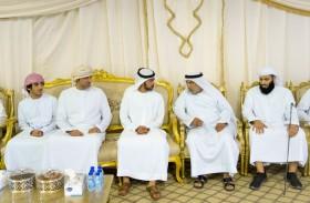 خليفة بن طحنون يعزي بوفاة عبدالله محمد العبري في أبوظبي