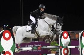 الفارسة الإماراتية نادية تريم تخوض معسكراً تدريبياً في ألمانيا استعداداً لكأس الأمم للفرق في الرباط
