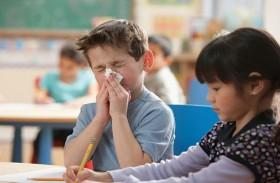 4 أمراض تنتقل لطفلك من المدرسة .. ما هي ؟!