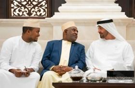 محمد بن زايد يؤكد اهتمام الإمارات بدعم جهود التنمية المستدامة في الدول الشقيقة والصديقة