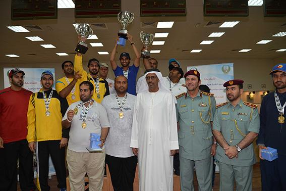 القيادة العامة لشرطة أبوظبي تحصد بطولة الفرق وعفراء تتصدر الفردي