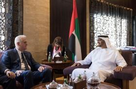 محمد بن زايد يبحث مع الرئيس الصربي علاقات التعاون والتطورات الدولية والإقليمية