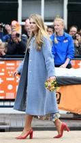 الأميرة الهولندية كاترينا-أماليا تشارك في يوم الملك في أميرزفورت ، هولندا. رويترز
