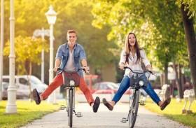 ركوب الدراجة يعزز الصحة واللياقة البدنية