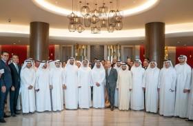 عبدالله بن سالم القاسمي يفتتح فندق بولمان الشارقة