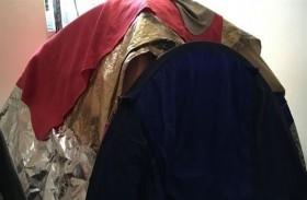 تعيش في خيمة هرباً من الإشعاعات