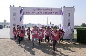 مفوضية مرشدات الشارقة تكرّم الفائزات بأول سباق عوائق للفتيات في الإمارة