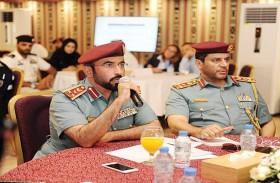 شرطة أبوظبي تنظم ورشة عمل حول تطوير الدفاع المدني