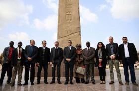 افتتاح مسلة مصرية عمرها 4 آلاف عام