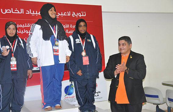 الإمارات تضيف ذهبية ثالثة لزوجي بنات البولينج مع ختام إقليمية الأولمبياد الخاص بمسقط
