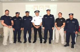 دورة متخصصة بالتفتيش الأمني في شرطة أبوظبي بمشاركة خبراء فرنسيين