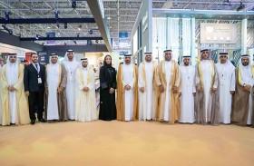 عبد الله بن سالم القاسمي يفتتح معرض الاستثمار العقاري «إيكرس 2019»