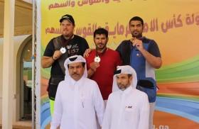 """ابن مجرن يتوج بذهبية رماية """"التراب"""" في منافسات كأس أمير قطر"""
