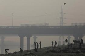 التلوث يطبق على دلهي