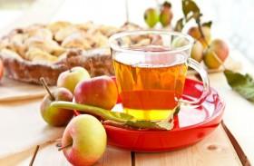 الشاي والتفاح يحميان من السرطان وأمراض القلب