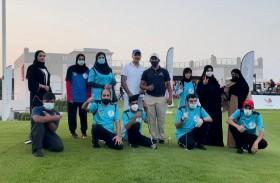 اتحاد الجولف ونادي رأس الخيمة لأصحاب الهمم نظما فعالية خيرية