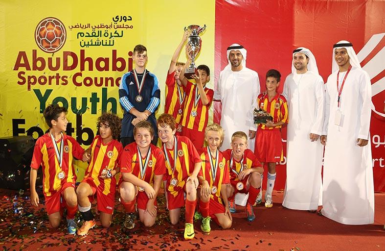 ختام مميز لدوري مجلس أبوظبي الرياضي لكرة القدم للناشئين