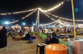 30 ألف شخصا شاركوا في مهرجان السعادة برأس الخيمة