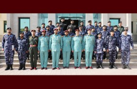 71 منتسبا يجتازون 4 دورات  بمعهد تدريب شرطة رأس الخيمة