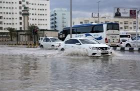 الإمارات تسجل أعلى هطولات مطرية في يناير