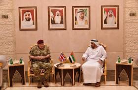 وكيل وزارة الدفاع يستقبل كبير مستشاري الدفاع البريطاني