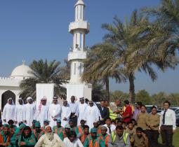 بلدية مدينة أبوظبي تنظم فعالية «رياضة بلاحدود» في مصفح