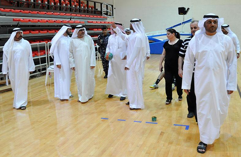 نادي الشارقة يضع كافة إمكاناته أمام اللجنة المنظمة لدورة الألعاب الثانية للأندية العربية للسيدات 2014