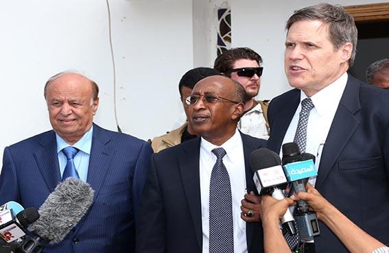 واشنطن تؤكد دعمها الكامل للرئيس اليمني