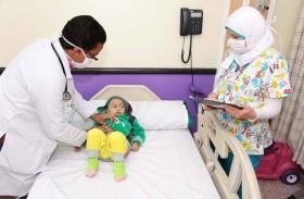 واجب التطوعي يتفقد جناح زايد في مستشفى السرطان في مصر