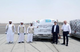 الإمارات ترسل طائرة مساعدات طبية ثانية إلى كازاخستان